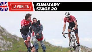 Summary - Stage 20 - La Vuelta 2017