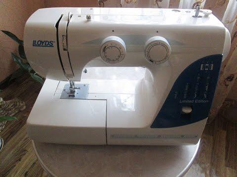 инструкция по эксплуатации швейной машинки lloyds 215a