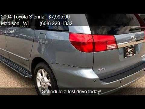 2004 Toyota Sienna Limited Awd For Sale In Madison Wi