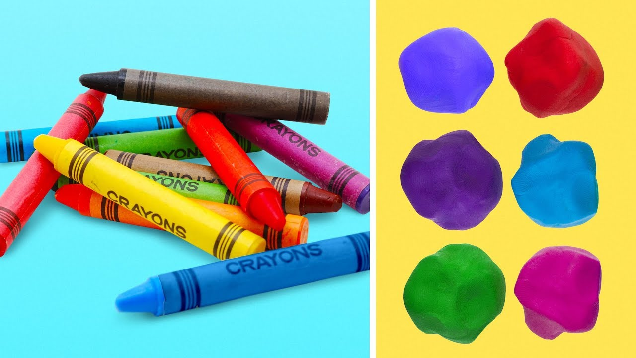 18 BRIGHT CRAYON IDEAS