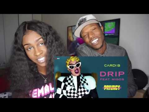 Cardi B - Drip feat. Migos [Audio] | Holly Sdot REACTION