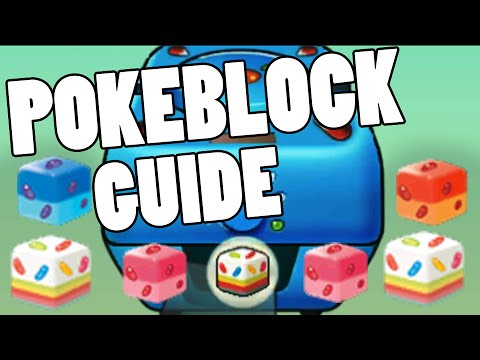Pokeblock and Berry Guide ORAS! How to make Pokeblock+ in Omega Ruby and Alpha Sapphire