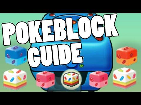 Pokeblock And Berry Guide Oras How To Make Pokeblock In