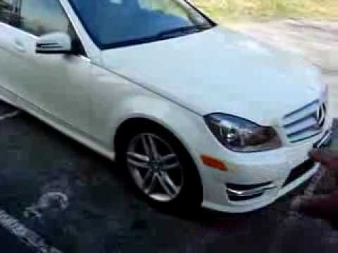 2012 Mercedes Benz C Class Exterior Walk Around Review Part 1 of 3