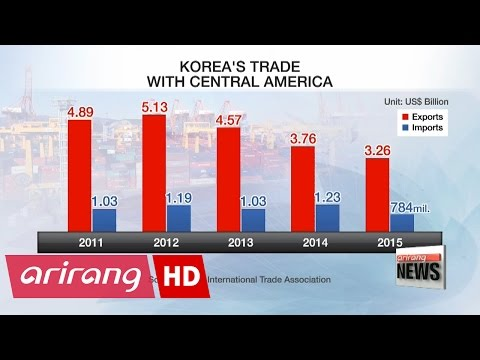 Korea virtually agrees on trade pact with 6 Central American countries