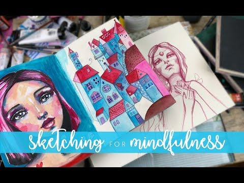 Happy Houses (Mindful Sketching) with Willowing thumbnail