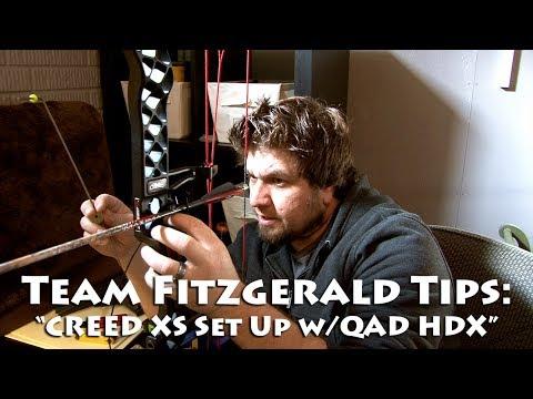 Mathews CREED XS Ultra Rest HDX Set Up-Team Fitzgerald Style