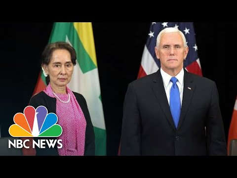 Mike Pence Criticizes Myanmar's Leader Over Human Rights Record | NBC News