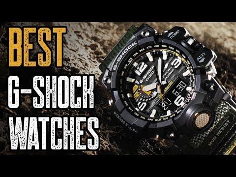 TOP 10: Best Casio G Shock Watches For Men!