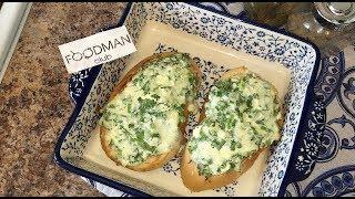 Горячие бутерброды с творогом, сыром и зеленью: рецепт от Foodman.club