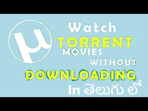 How to watch torrent movies online without download in telugu
