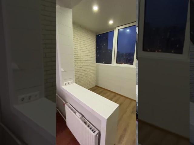 Смотреть видео Комната на балконе под ключ