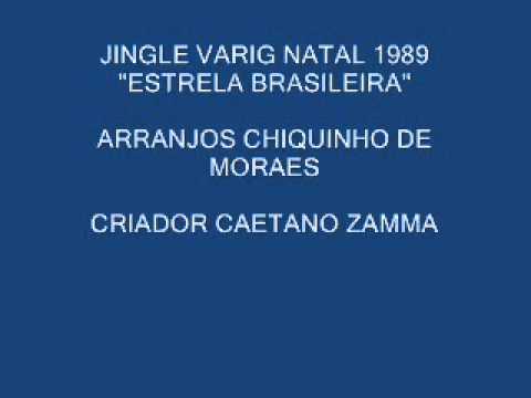 JINGLE VARIG NATAL ESTRELA BRASILEIRA 1989 AUDIO E VIDEO.wmv