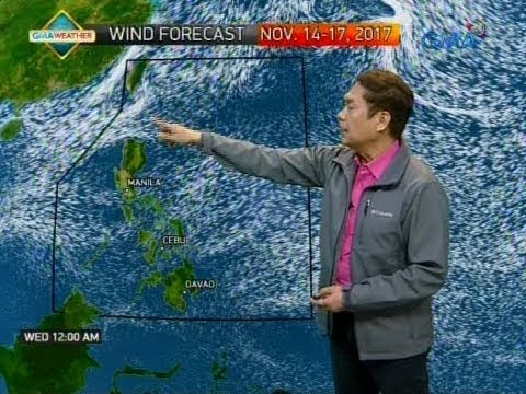 UB: Weather update as of 6:15 a.m. (November 14, 2017)