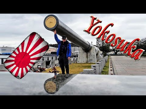 Exploring the Yokosuka Naval Base Area (横須賀市)