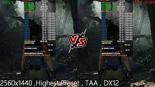 RTX 2080 Ti Stock VS Overclocked Performance 2560x1440 |i9 9900K 5.1GHz
