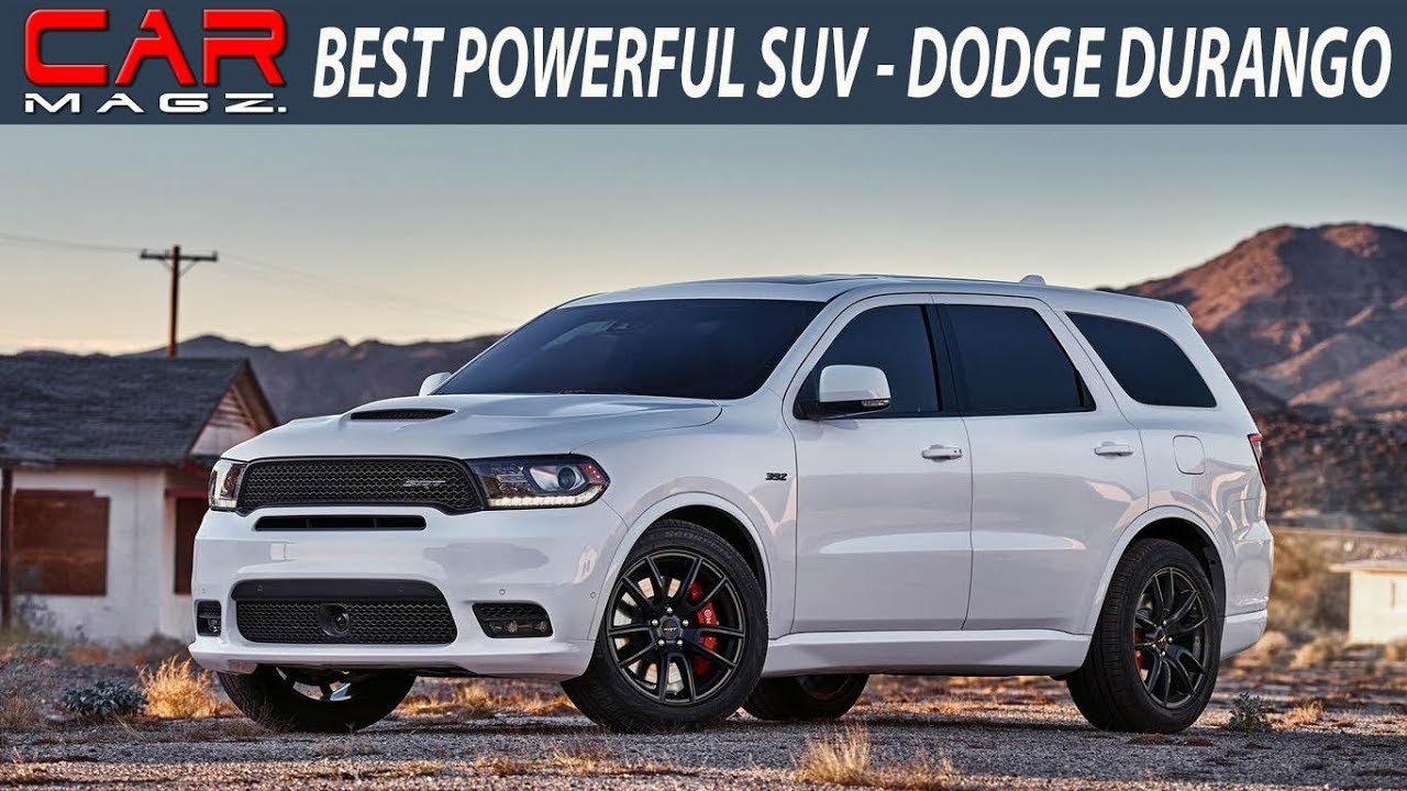 2018 Dodge Durango Redesign Review And Specs Youtube