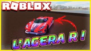 J ' AI L' AGERA R!! | Roblox veículo Simulator