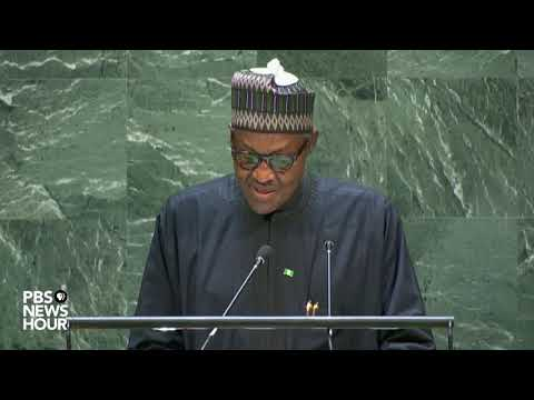 WATCH: Nigeria President Muhammadu Buhari's full speech to t