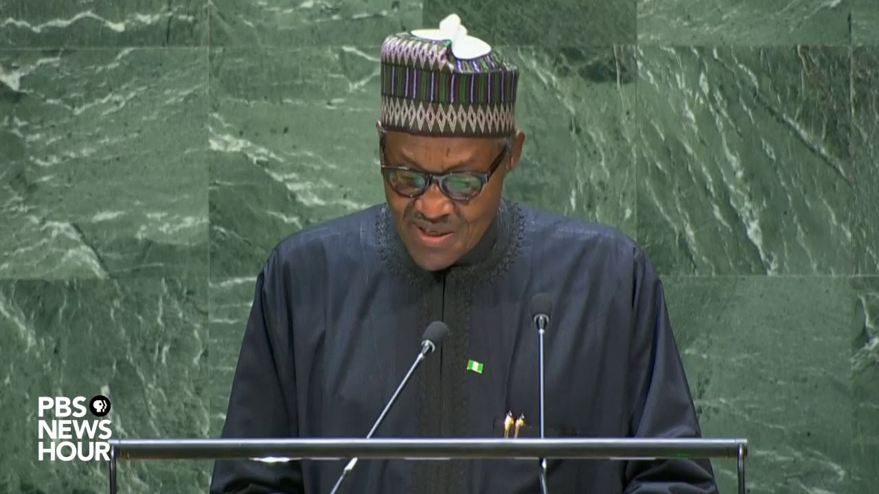 Download WATCH: Nigeria President Muhammadu Buhari's full speech to the UN General Assembly