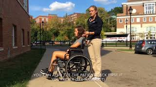 Skill 15:Wheelchairs up and down curbs