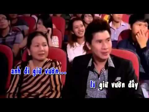 Anh Đi Giữ Vườn - Karaoke Beat NAM (Cẩm Ly, Quốc Đại)