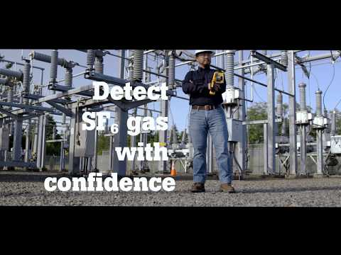 The Fluke Ti450 SF6 Gas Detector and Infrared Camera