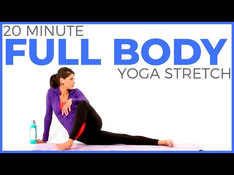 20 minute Full Body Yoga Stretch | Slow Stretch Yoga for Flexibility & Sore Muscles