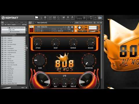 New 808 Kings [ TheBeatHouse ] Kontakt VST