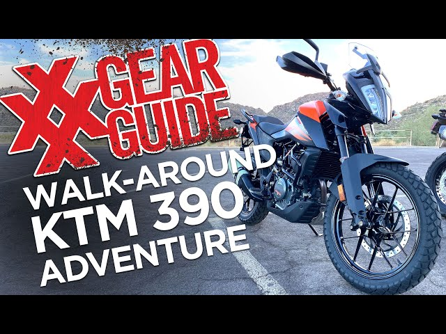 KTM 390 Adventure Motorcycle Walkaround 4XPEDITION
