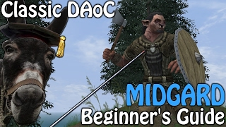 Classic Dark Age of Camelot -  Midgard Beginner's Guide