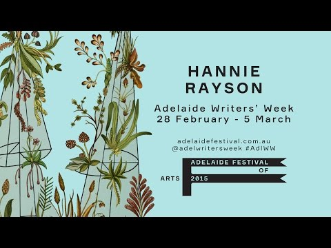 Hannie Rayson | Adelaide Writers' Week 2015