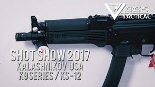 Shot Show 2017: Kalashnikov USA K9 Series/KS-12