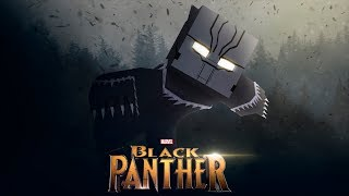 Minecraft Movie - BLACK PANTHER!