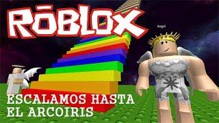 Escalamos hasta el arcoiris   Roblox