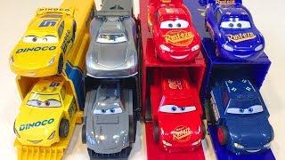 Машинки Молния Маквин Тачки Лего Гонщики Трейлеры Видео для Детей