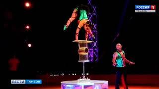 ВестиТамбов. Впервые в Тамбове цирк «Арена-ягуар» с шоу-программой «Полосатый рейс» - Россия Сегодня