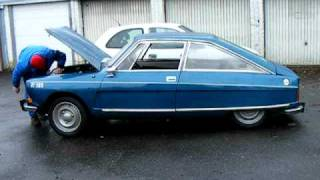 Citroën M35 nr. 122 Blue Delta runs again after more than 25 years!