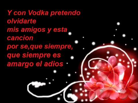 La carencia lyrics