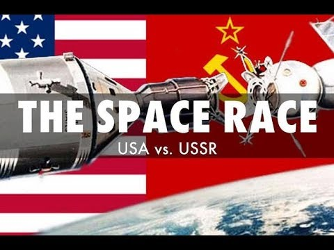 NASA and the Space Race Rap (Music Video for School Project)
