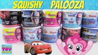 Fashems Mashems Squishy Pop Palooza Disney Cars Barbie My Little Pony Toy Review   PSToyReviews