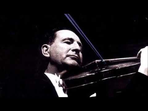 """Sibelius """"Violin Concerto"""" Peter Rybar/Paul Burkhard"""