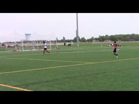 "Adidas Blue Chip Cincinnati Spring 2017 Century V 2001 Gold Boys vs Ajax ""Toronto Canada 2nd Half"