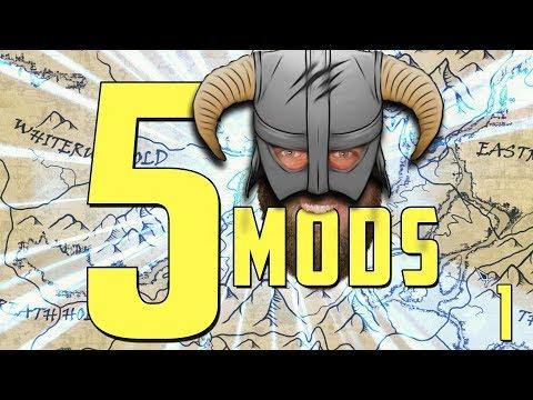 🐉 5 UI MODS For SKYRIM SE! | Part 1