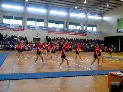 Bài Aerobic của trường Đại học Sư phạm - Đại học Đà Nẵng