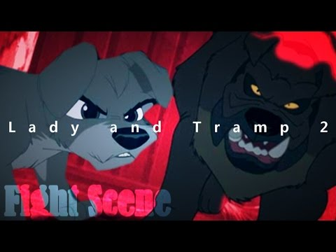 Lady and Tramp 2 - Fight Scene HD