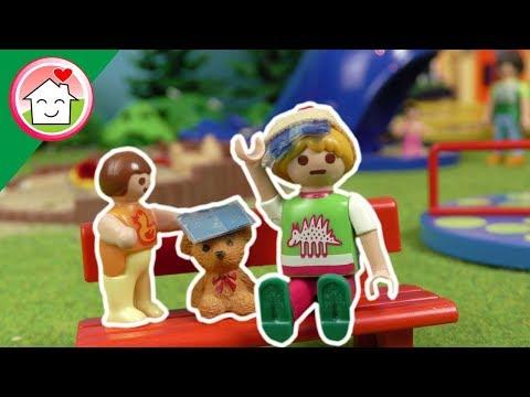 جنة و رؤى بيلعبوا في الحديقة - عائلة عمر - جنه ورؤى