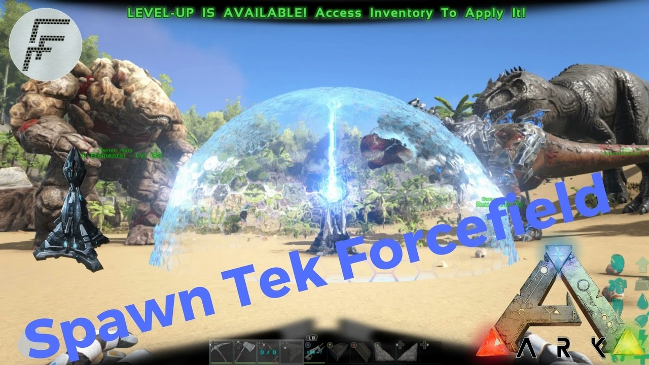 Ark survival evolved how to spawn tek force field youtube ark survival evolved how to spawn tek force field malvernweather Images