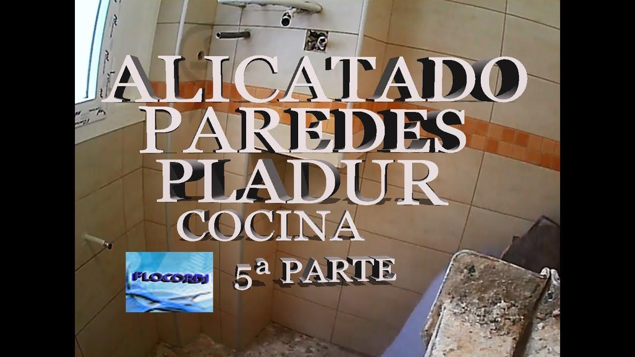 Alicatado de paredes de pladur cocina 5 y ultima parte youtube - Paredes de pladur ...