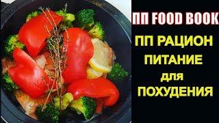 ПП FOOD BOOK! ПИТАНИЕ для ПОХУДЕНИЯ! ПП РАЦИОН на День! Один день в моей ТАРЕЛКЕ! Elena France
